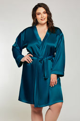 iCollection Satin Robe - 7854X