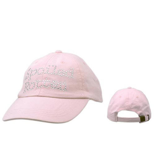 Wholesale Women's Baseball Cap C139 (1 pc.) Spoiled Rotten in Rhinestones!