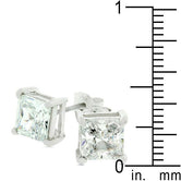 Charity Stud Earrings         	 		         	         	 		         	         	 		         	         	 		                           E00238RS-S01