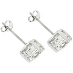7mm Round Cut Stud Earrings         	 		         	         	 		         	         	 		         	         	 		                           E01220RS-S01-7MM