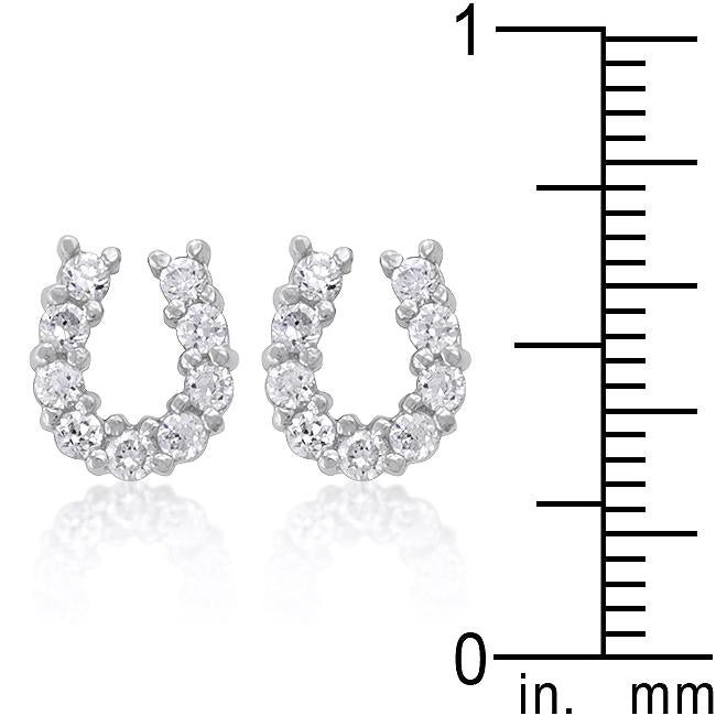 Lucky Horseshoe Earring Set         	 		         	         	 		                           E01280R-C01