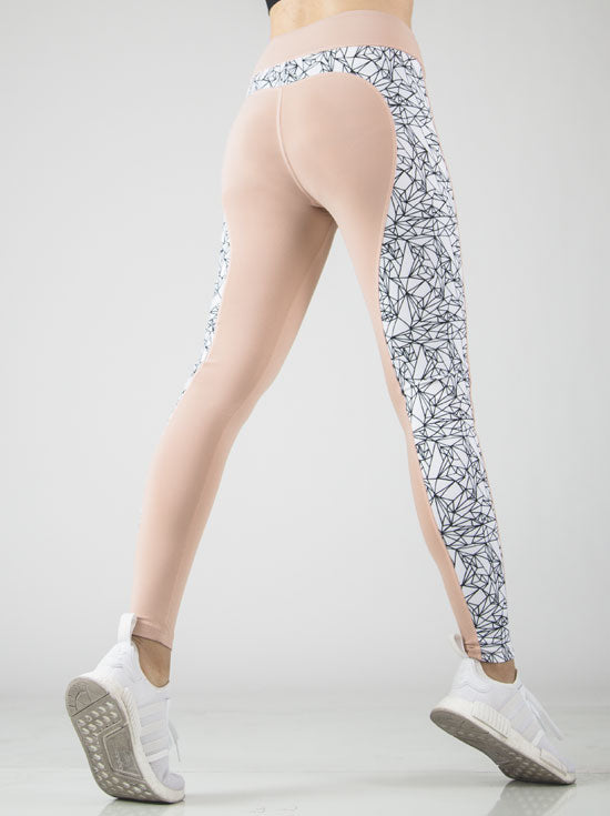 Gina Geometric Sport Tight - Figur Activ
