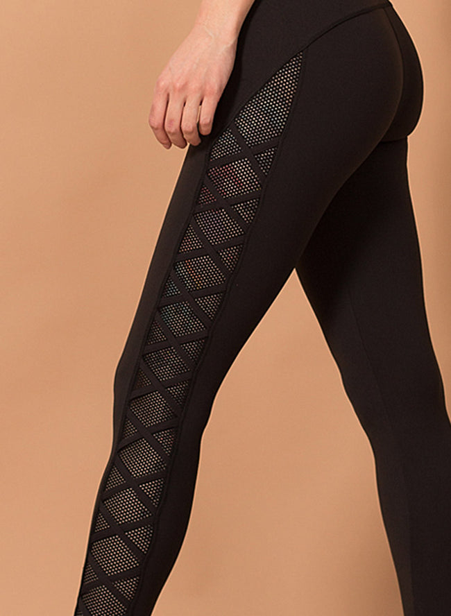 Camila Criss Cross Tights - Figur Activ