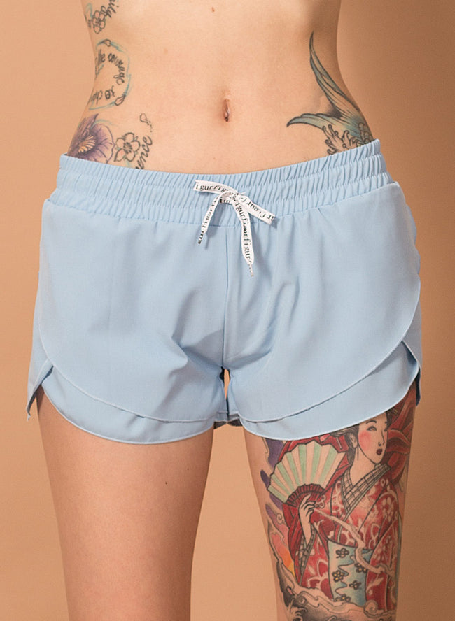 Lacey Layered Shorts - Figur Activ