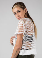 Abby Mesh Crop Top - Figur Activ
