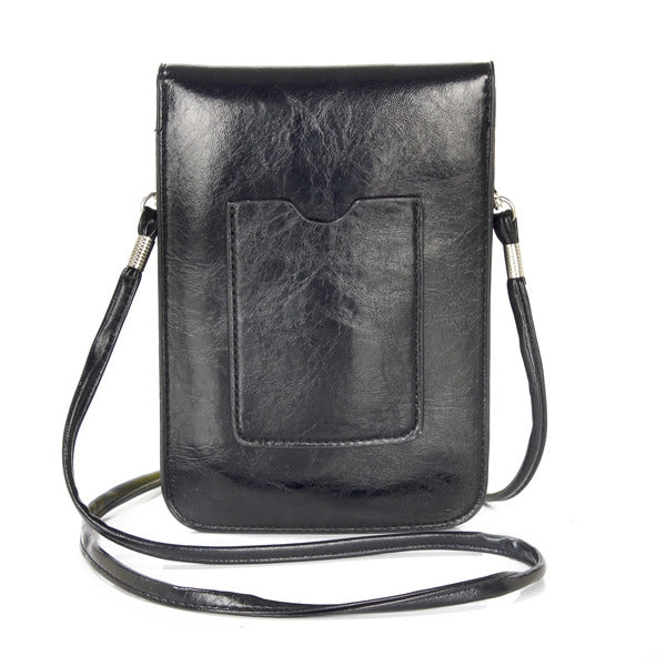 Black Small Bag with Shoulder Strap (PR161)(with Package)