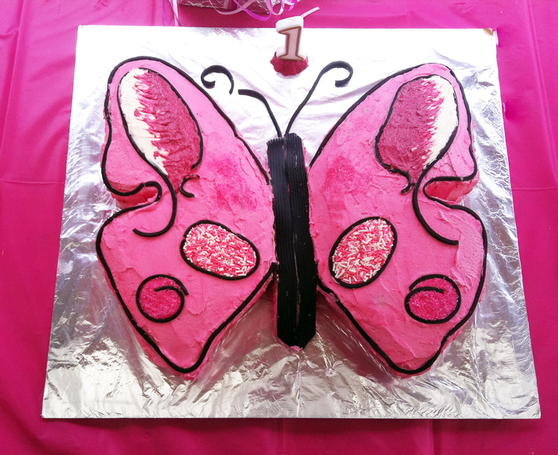 Butterfly cake for girls