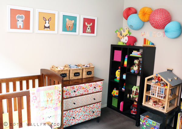Practical, beautiful nursery reveal