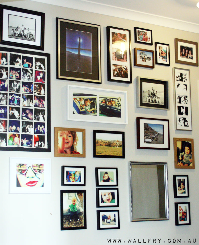Wall frame gallery wall