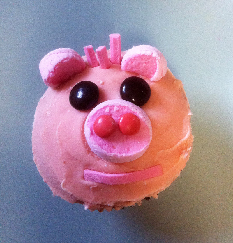 This little piggy cupcake...