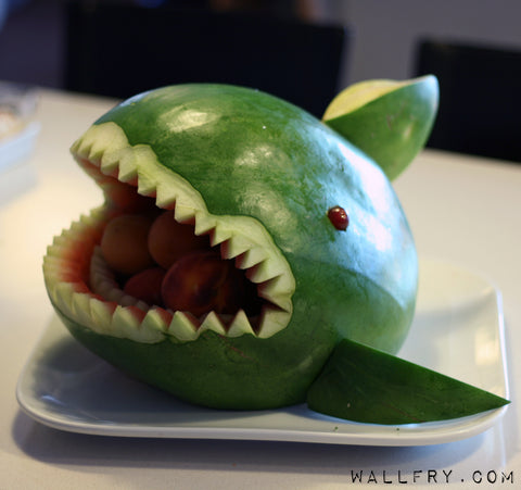 Melon shark monster