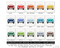 Transportation prints. Car wall art for boys nursery decor. Kids wall art car, boat, airplane prints. CAR print by Wal
