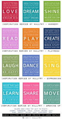 Playroom wall art playroom prints. Inspirational typography MOVE. Subway word art for kids  sc 1 st  Wallfry & Inspiration typography print - MOVE u2013 Wallfry Pty Ltd