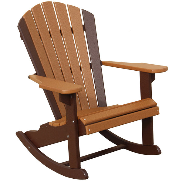 Classic Beach Rocker in Brown and Cedar