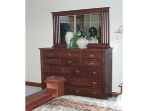 Mission Dresser in Lexington Oak