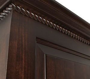 Hudson Armoire in Onyx Maple