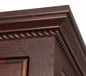 Hudson Armoire in Frontier Oak
