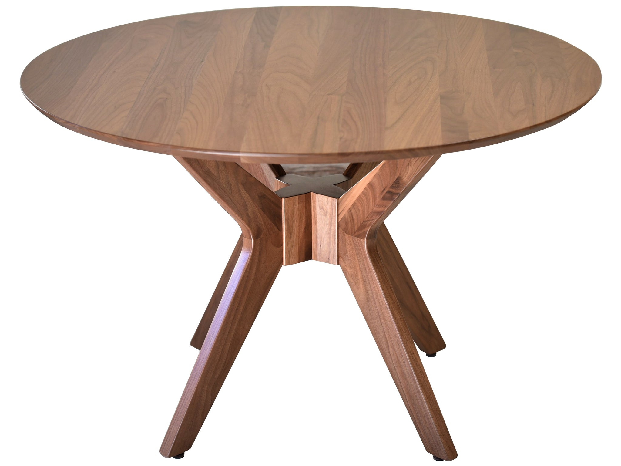 Charmant Mid Century Modern Round Dining Table