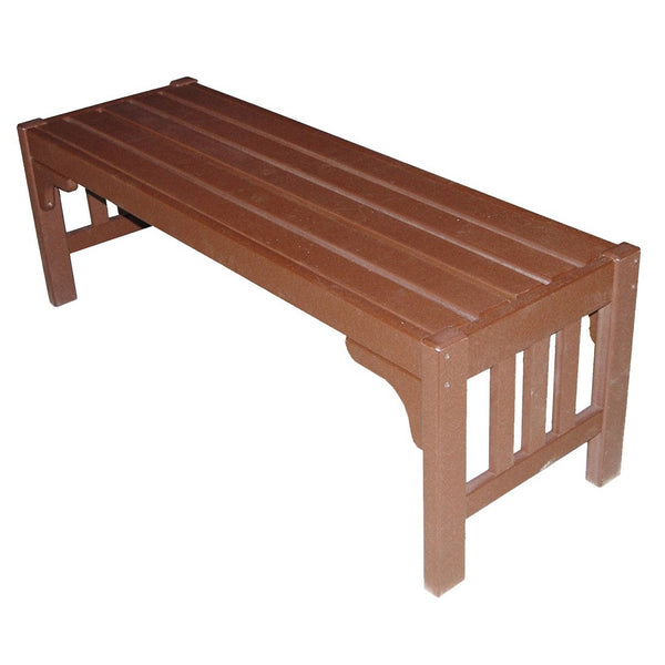 Mission Parkside Bench in Brown