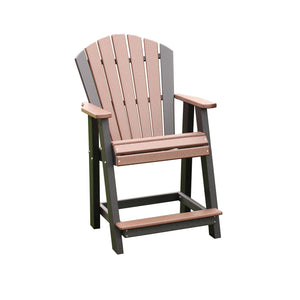 "Classic 20"" Stationary Counter Chair"