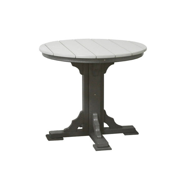 "34"" Round Outdoor Dining Table"
