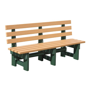 6' Commercial Park Bench