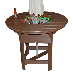 "48"" Round Bar Table with Bowl"