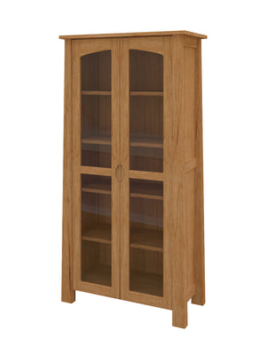 Luxor Glass Door Bookshelf