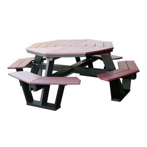 5' Octagon Picnic Table