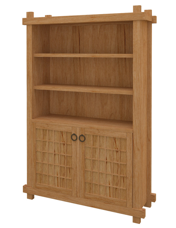 Tansu Bookshelf with Doors