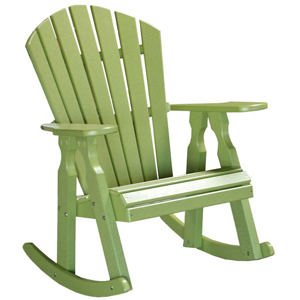 "22"" Classic Dining Rocker in Lime Green"