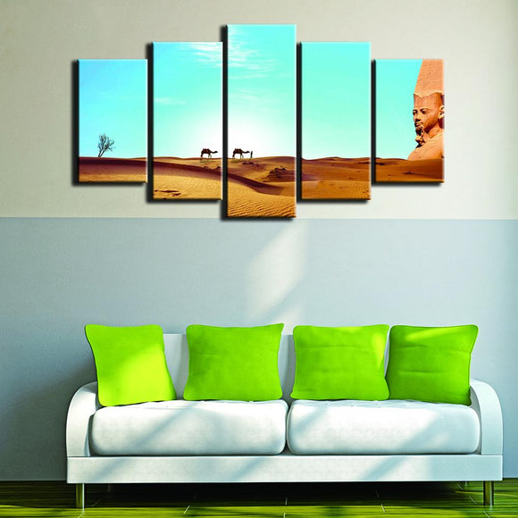 The Desert Landscape - Nature Canvas Wall Art