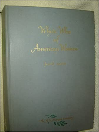 Who's Who of American Women 1966-1967 Hardcover – January 1, 1967 by A. N. Marquis (Author)
