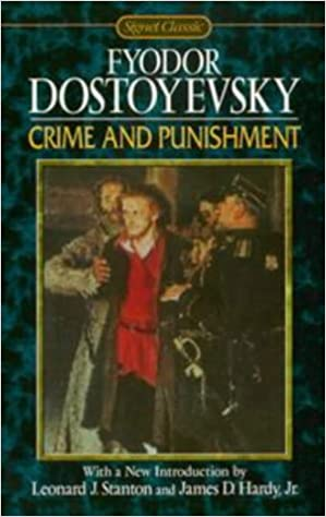 Crime and Punishment (Signet Classics) Mass Market Paperback – February 1, 1999 by Fyodor Dostoyevsky  (Author), Sidney Monas (Translator), Leonard Stanton (Introduction), James D. Jr. Hardy (Introduction)
