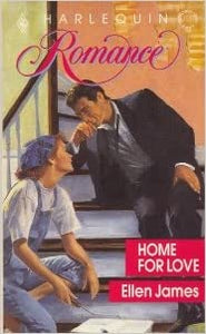 Home For Love Mass Market Paperback – April 1, 1990 by Ellen James  (Author)