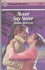 Never Say Never Mass Market Paperback – September 1, 1983 by Claudia Jameson  (Author)