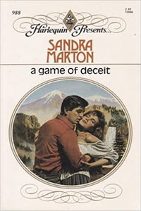 Game Of Deceit Paperback – May 1, 1987 by Sandra Marton  (Author)