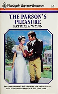 Parson's Pleasure Mass Market Paperback – March 1, 1988 by Patricia Wynn  (Author)