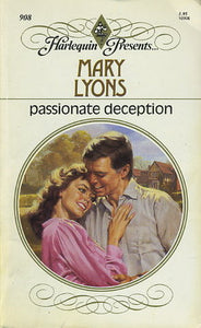 Passionate Deception Paperback – July 15, 1986 by Mary Lyons (Author)