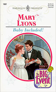 Baby Included (The Big Event) Mass Market Paperback – November 1, 1998 by Mary Lyons  (Author)