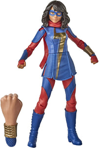 Hasbro Marvel Gamerverse 6-inch Ms. Marvel Action Figure Toy, Advanced Armor Skin
