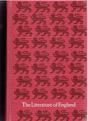 The Literature of England, Volume 1, 5th Edition; Hardcover – January 1, 1966 by And William Buckler; Anderson, George (Author)