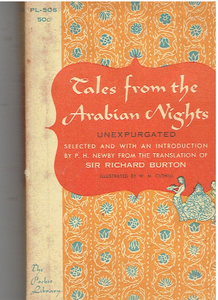 Tales from the Arabian Nights - Paperback 1956 Translated by Sir Richard Burton