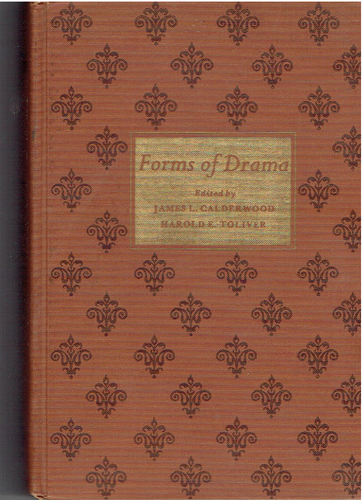 Forms of Drama Hardcover – January 1, 1969 by Harold E. Calderwood, James L.; Toliver (Author)