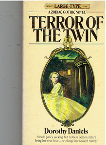 Terror of the Twin Paperback – January 1, 1976 by Dorothy Daniels (Author)