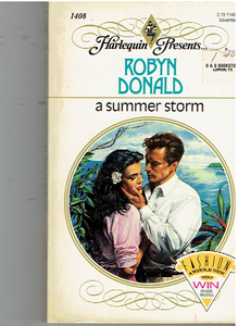 Summer Storm Paperback – October 1, 1991 by Robyn Donald  (Author)