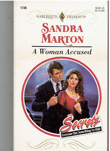 Woman Accused Mass Market Paperback – March 1, 1995 by Sandra Marton  (Author)