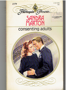 Consenting Adults Paperback – June 1, 1991 by Sandra Marton  (Author)