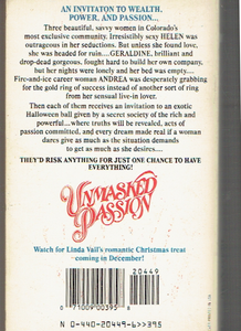 Unmasked Passion Mass Market Paperback – September 3, 1989 by Linda Vail  (Author)