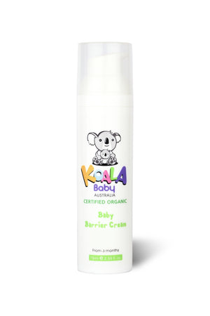 Certified Organic Baby Barrier Cream